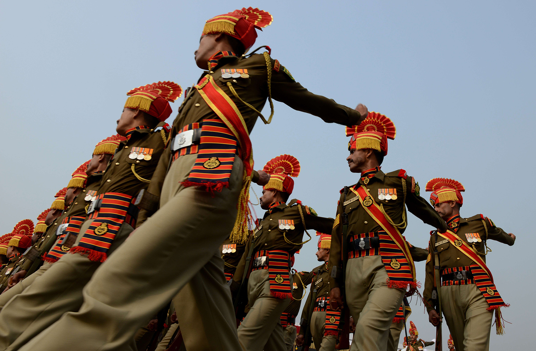 An Indian Border Security Force