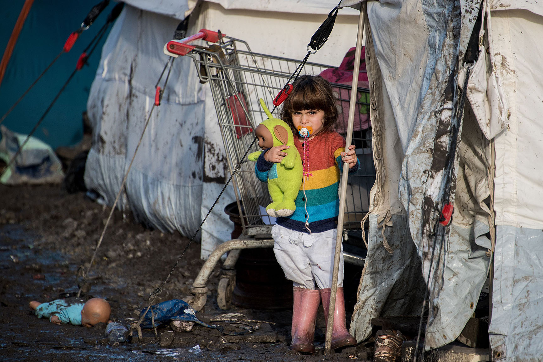 The child of Kurdish migrants
