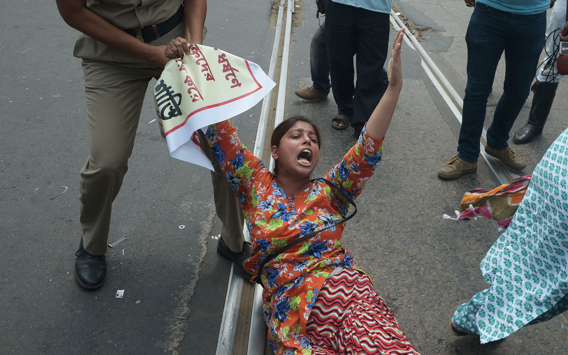 Indian police arrest activists