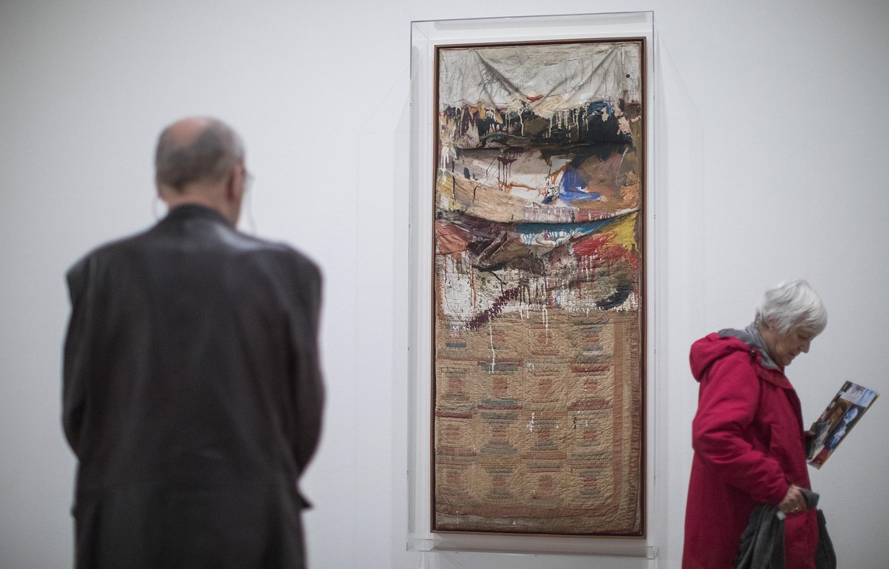 Robert Rauschenberg exhibit opens
