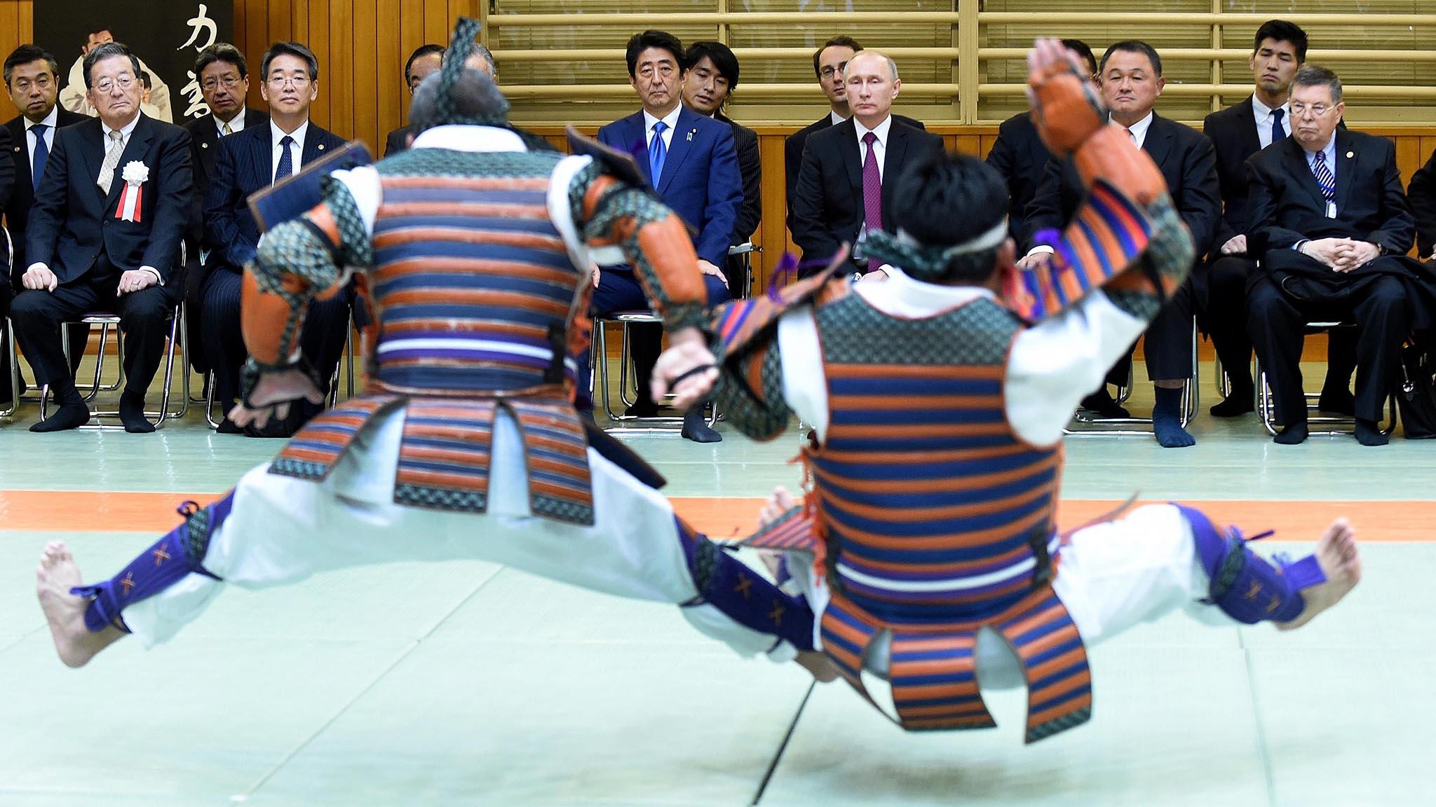 Russian President Vladimir Putin in Japan