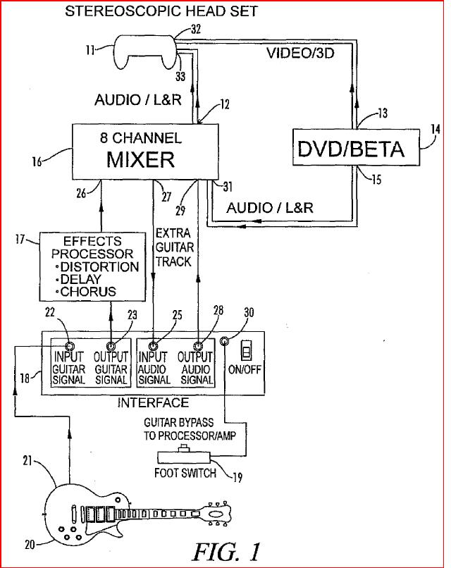 Gibson patent diagram