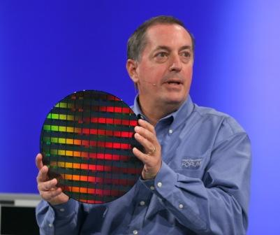 Intel CEO with 80-core processors