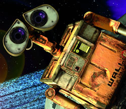 WALL.E Pixar copyright