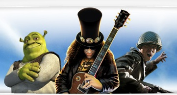 Shrek Guitar Hero Call of Duty