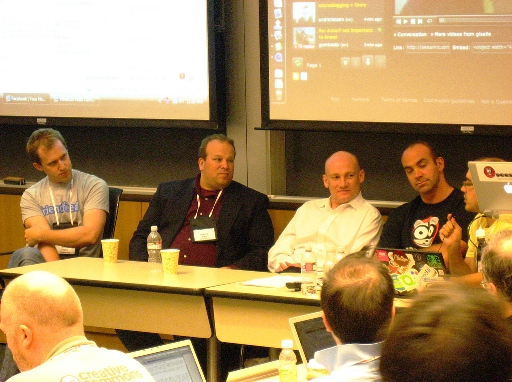 Bret Taylor, Dave Sifry - Technorati, Matt Colebourne, Loic Le Meur