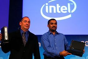 Nettop and netbook at Intel Developer Forum in Shanghai