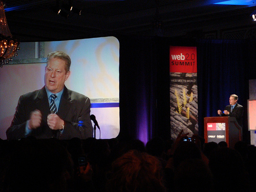 Al Gore at Web 2.0