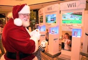 Wii Santa