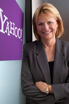 Carol Bartz (pic from Yahoo Anecdotal blog)