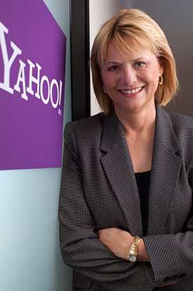 Carol Bartz (pic from Yahoo Anecdotal blog)