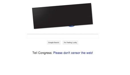 google-blackout