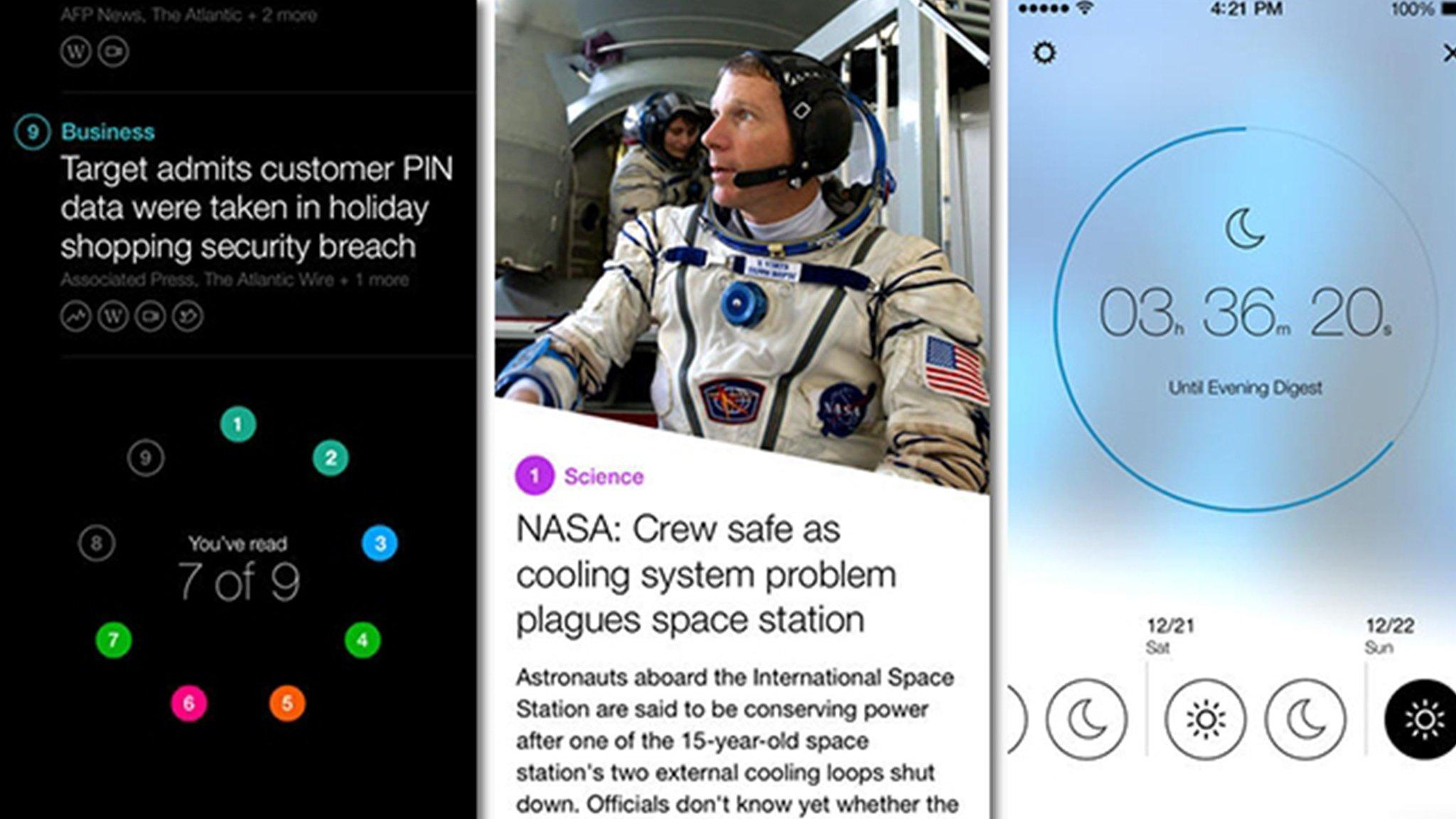 Yahoo launches news aggregation and summary app 'News Digest'.I
