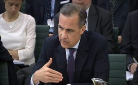 Treasury Select Committee...Bank of England governor Mark Carney answers questions in front of the Treasury Select Committee in the House of Commons, central London, on the subject of the Bank of England's quarterly inflation report and Scottish independence. PRESS ASSOCIATION Photo. Picture date: Tuesday March 11, 2014. Later today he will answer questions on the 'Economics of currency unions' and the Bank's Foreign Exchange Market Review. See PA story ECONOMY Bank. Photo credit should read: PA Wire