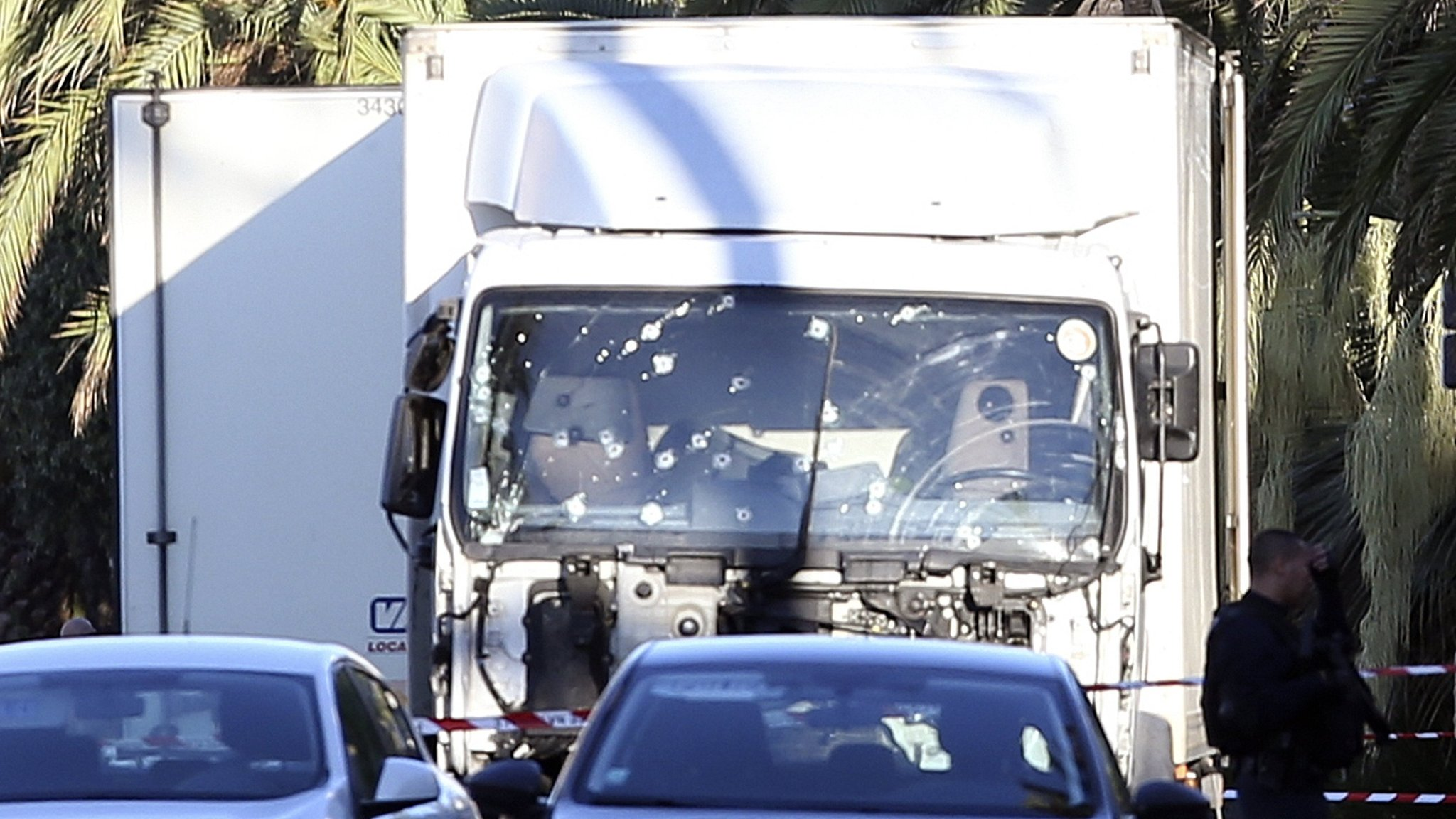 APTOPIX France Truck Attack
