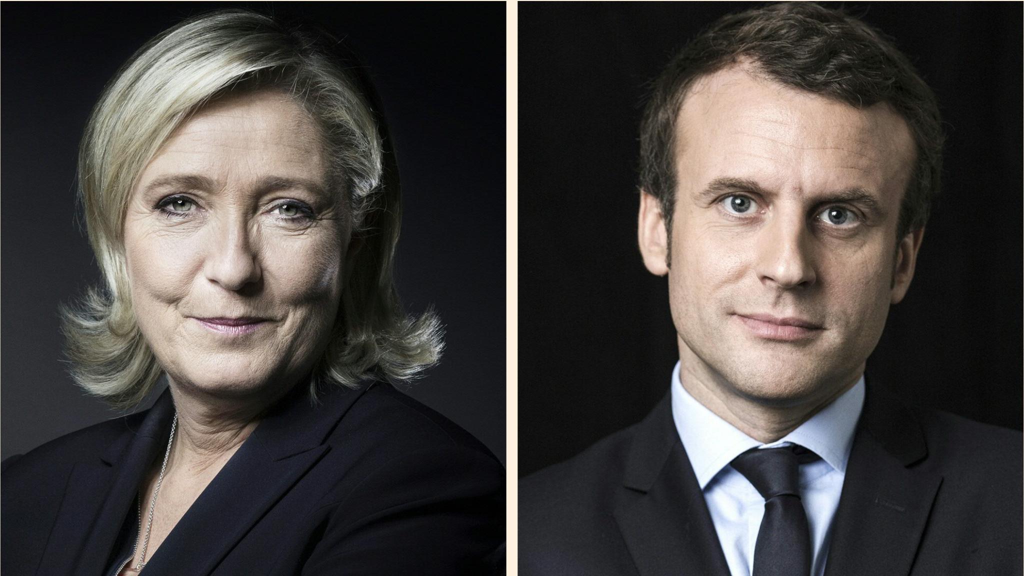 France elections 2017 live - Fr_lepen_macron
