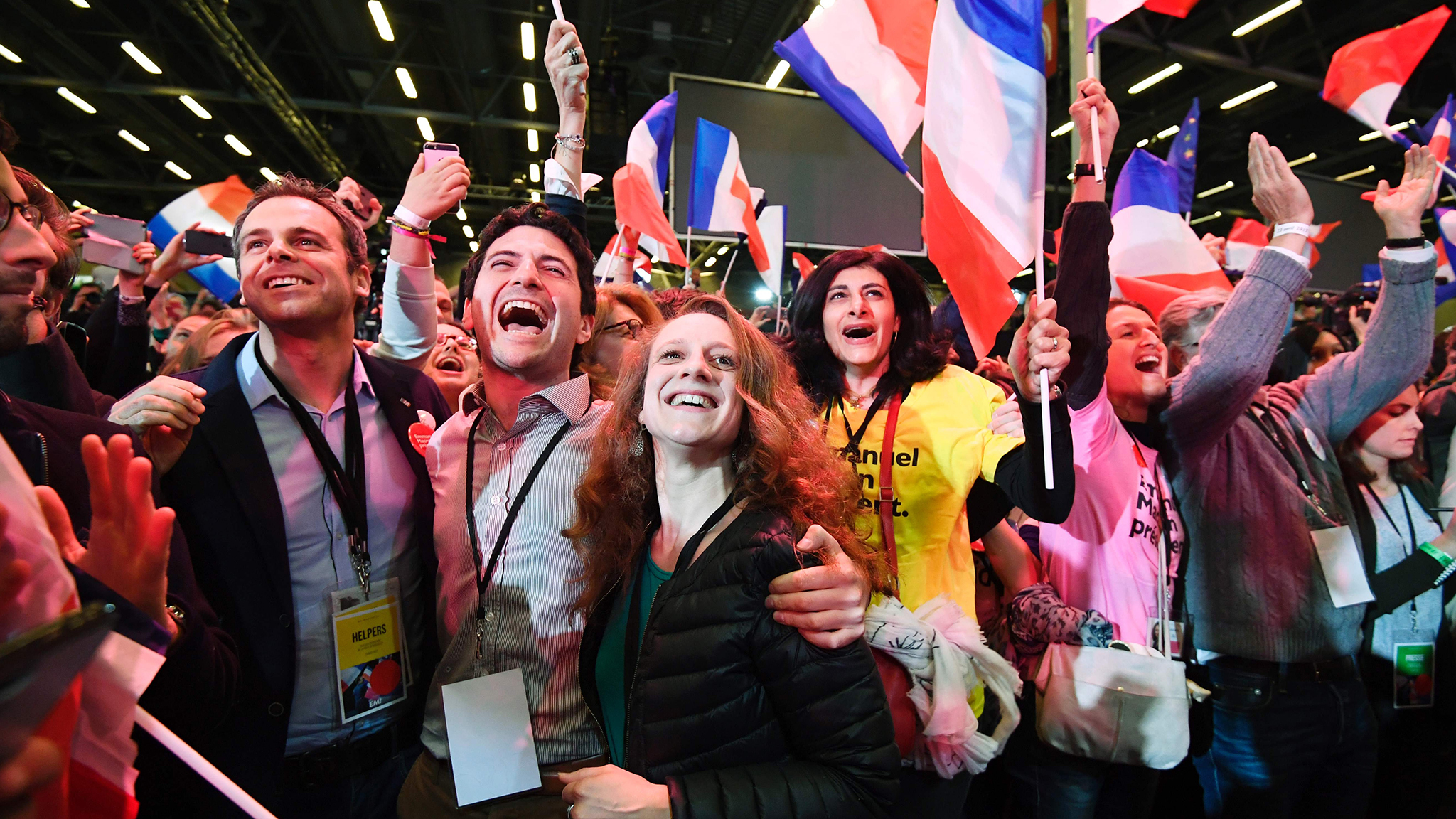 France elections 2017 live - The French Blue Chip Index The Cac 40 Has Joined The Wider Market Rally Jumping 4 Per Cent At The Open Led By The Banks