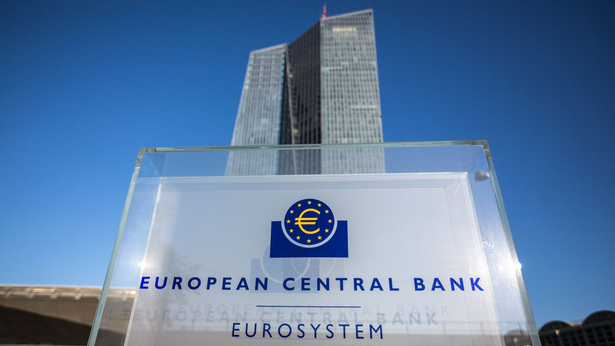 European Central Bank asset purchase, rate decision