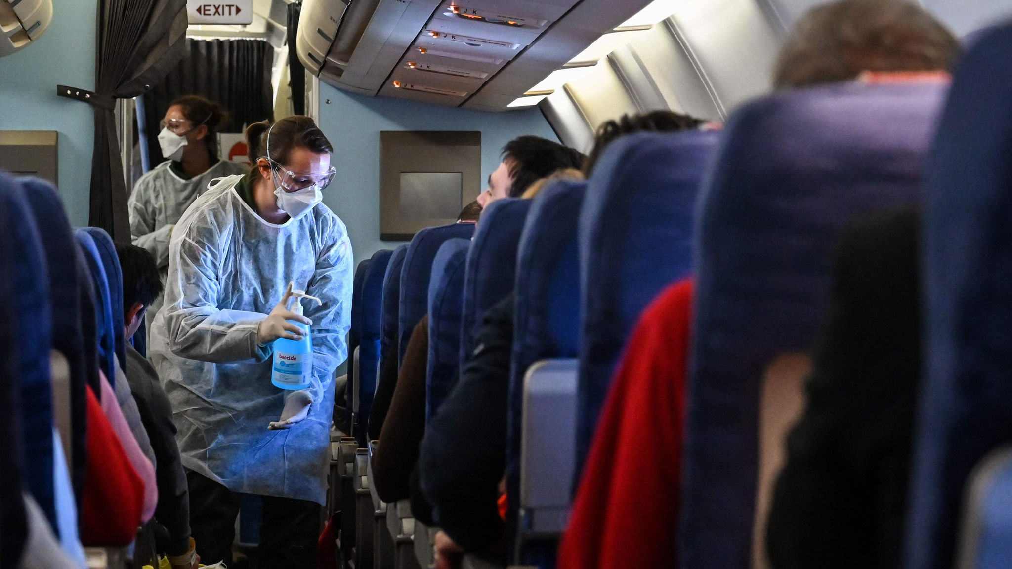 CHINA-FRANCE-HEALTH-VIRUS-TRANSPORT-AVIATION-REPATRIATION