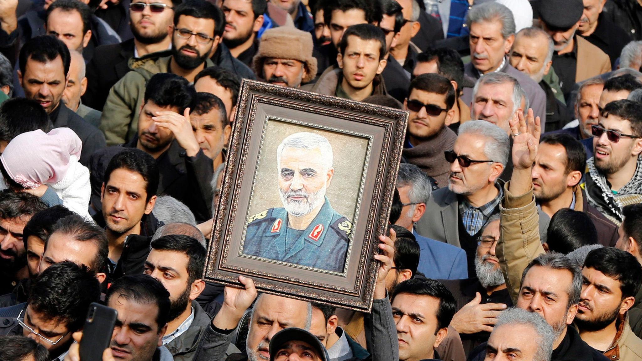 Top Iranian General Qasem Soleimani killed in US airstrike in Baghdad, Tehran, Iran Islamic Republic Of - 03 Jan 2020