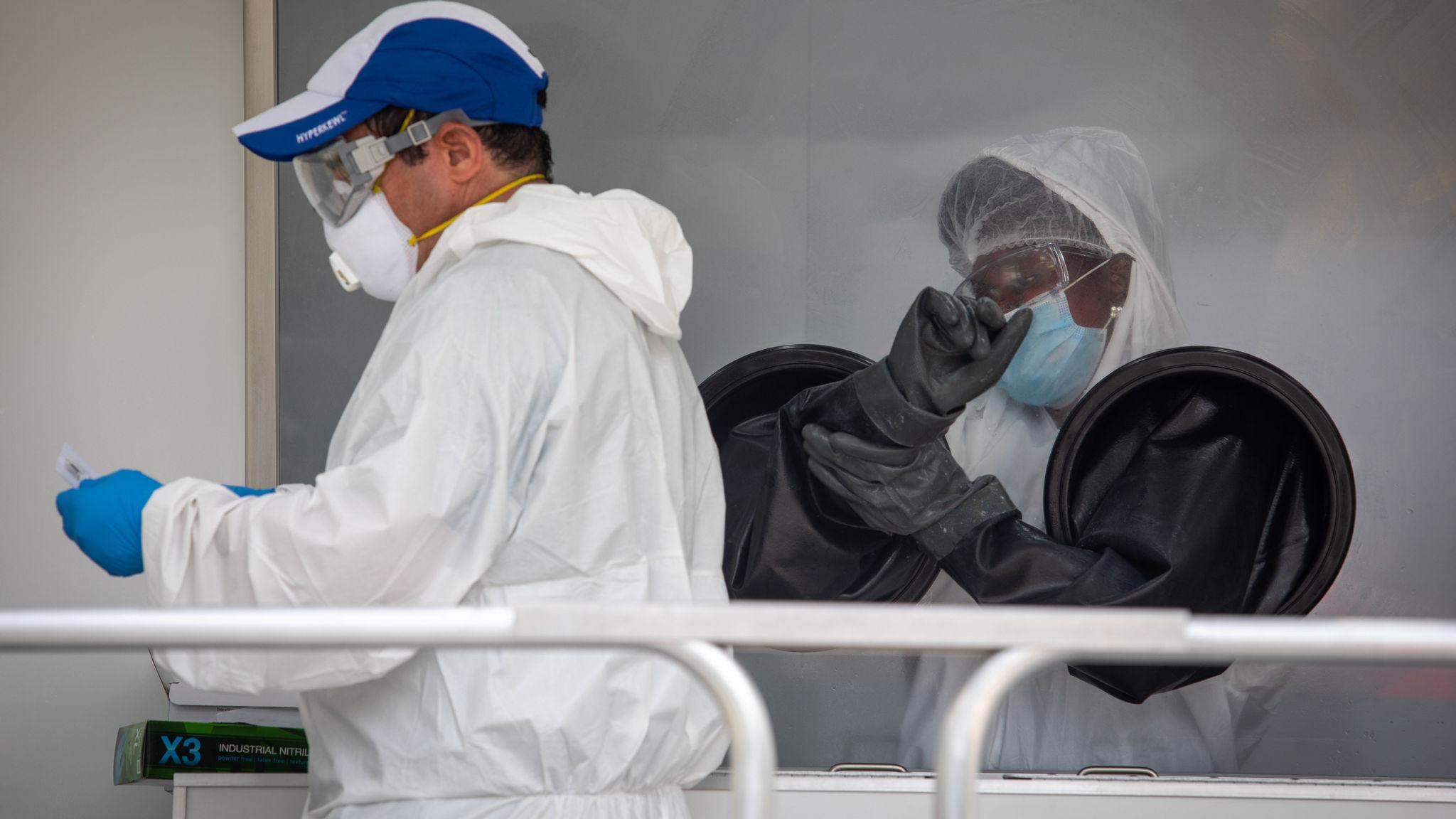 New Lockdowns Are Threatened in Virus-Stricken U.S. States