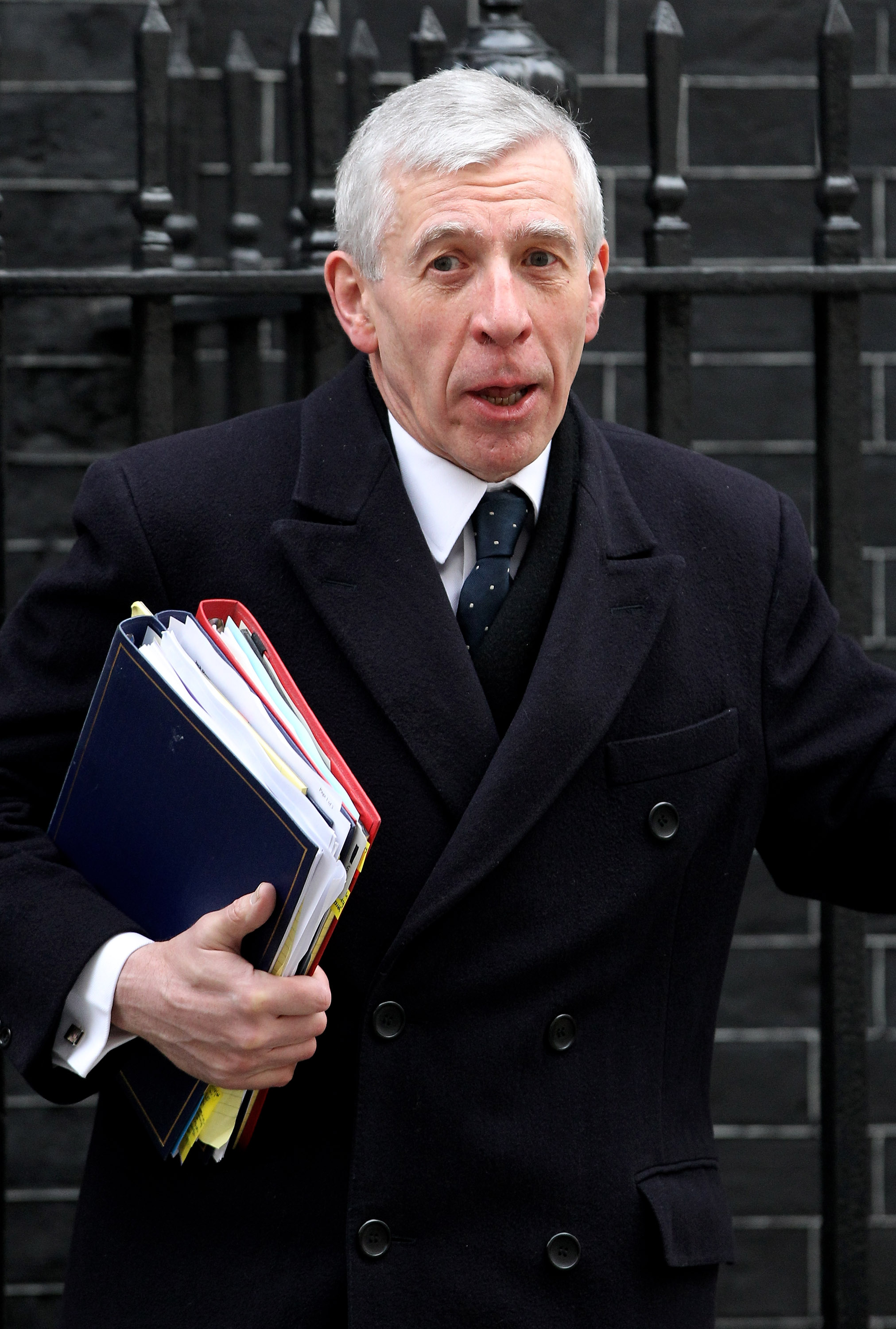 Jack Straw, Labour negotiator at the last negotiations on party funding