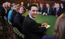 Ed Miliband and his shadow cabinet