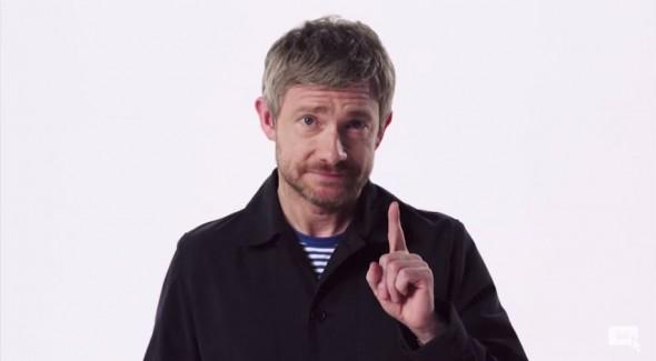 Martin Freeman video