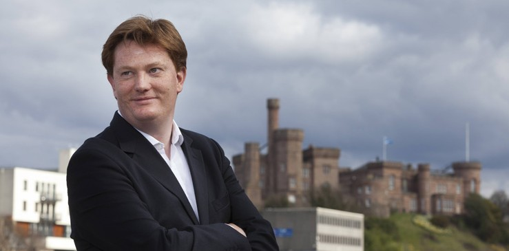 Danny Alexander in Inverness