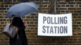 U.K. Voters Head To The Polls In The EU Referendum