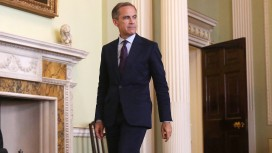 Bank Of England Governor Mark Carney Delivers Speech As Bank Pledges Liquidity