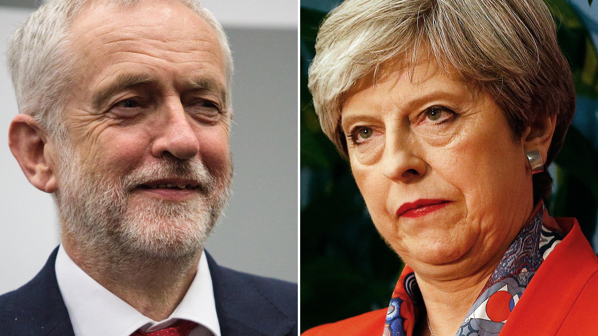 MAS_May_Corbyn_AP_Getty