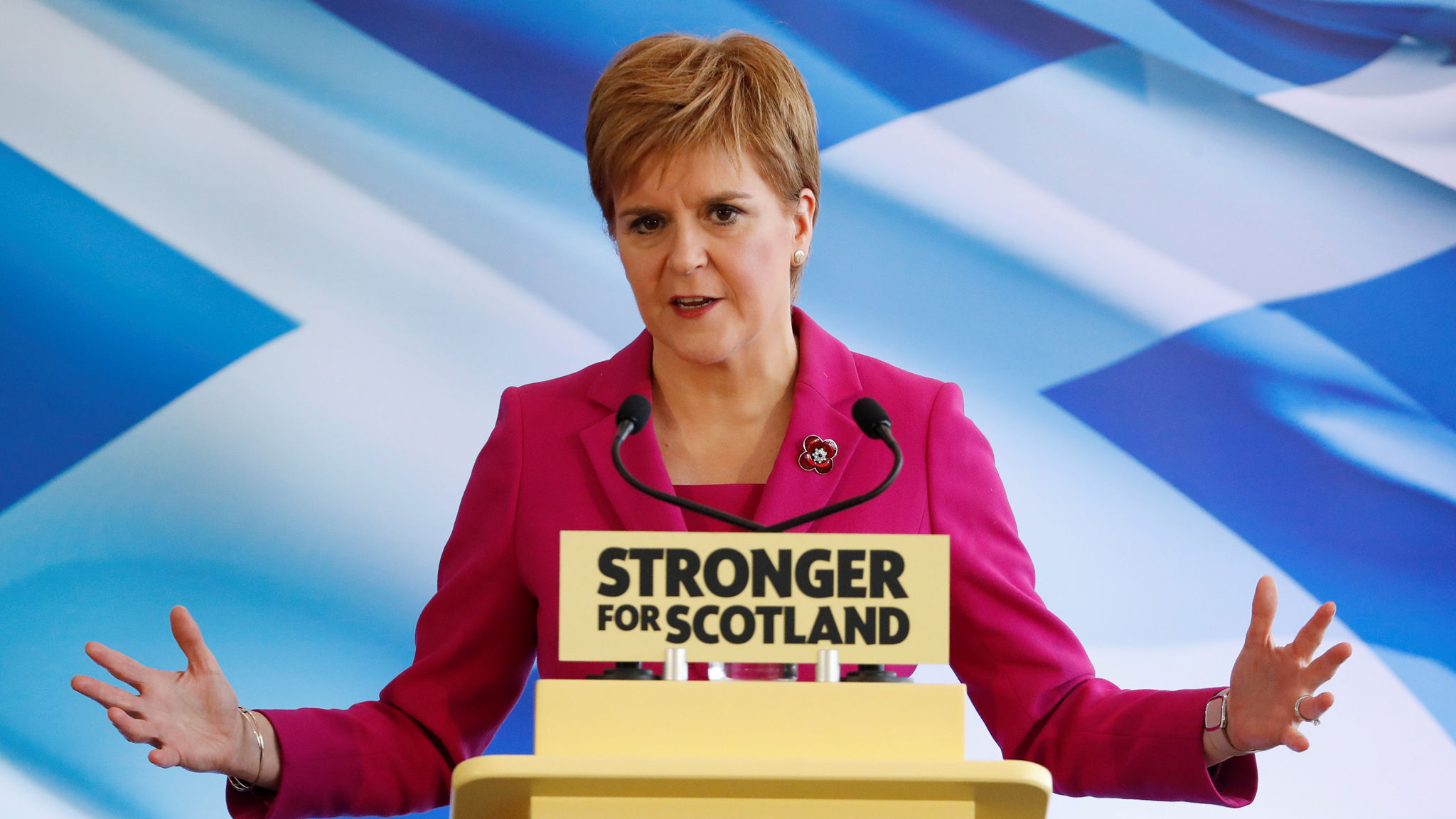 SNP general election campaign launch in Edinburgh