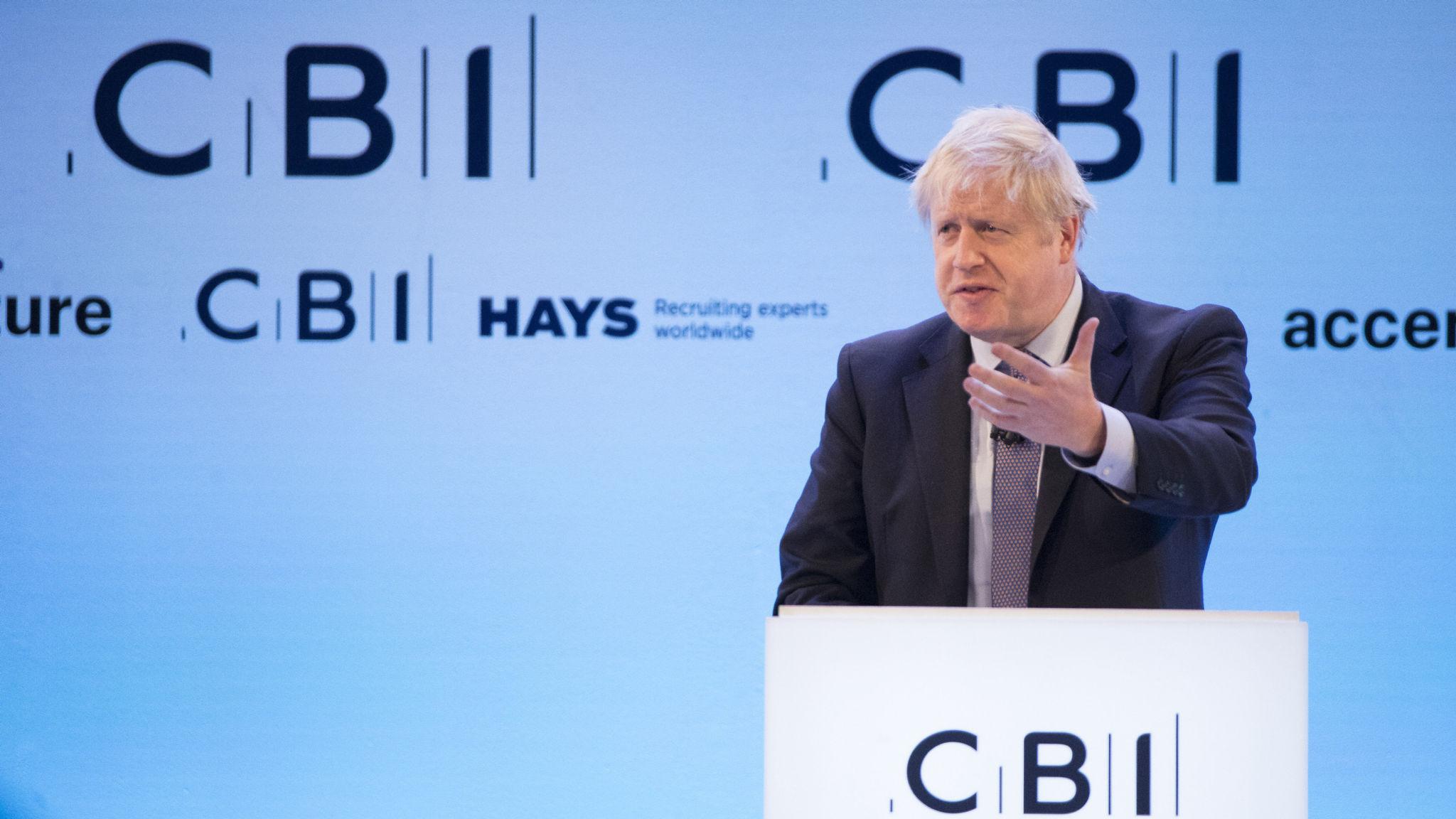 Johnson, Corbyn And Swinson Speak At CBI Annual Conference 2019