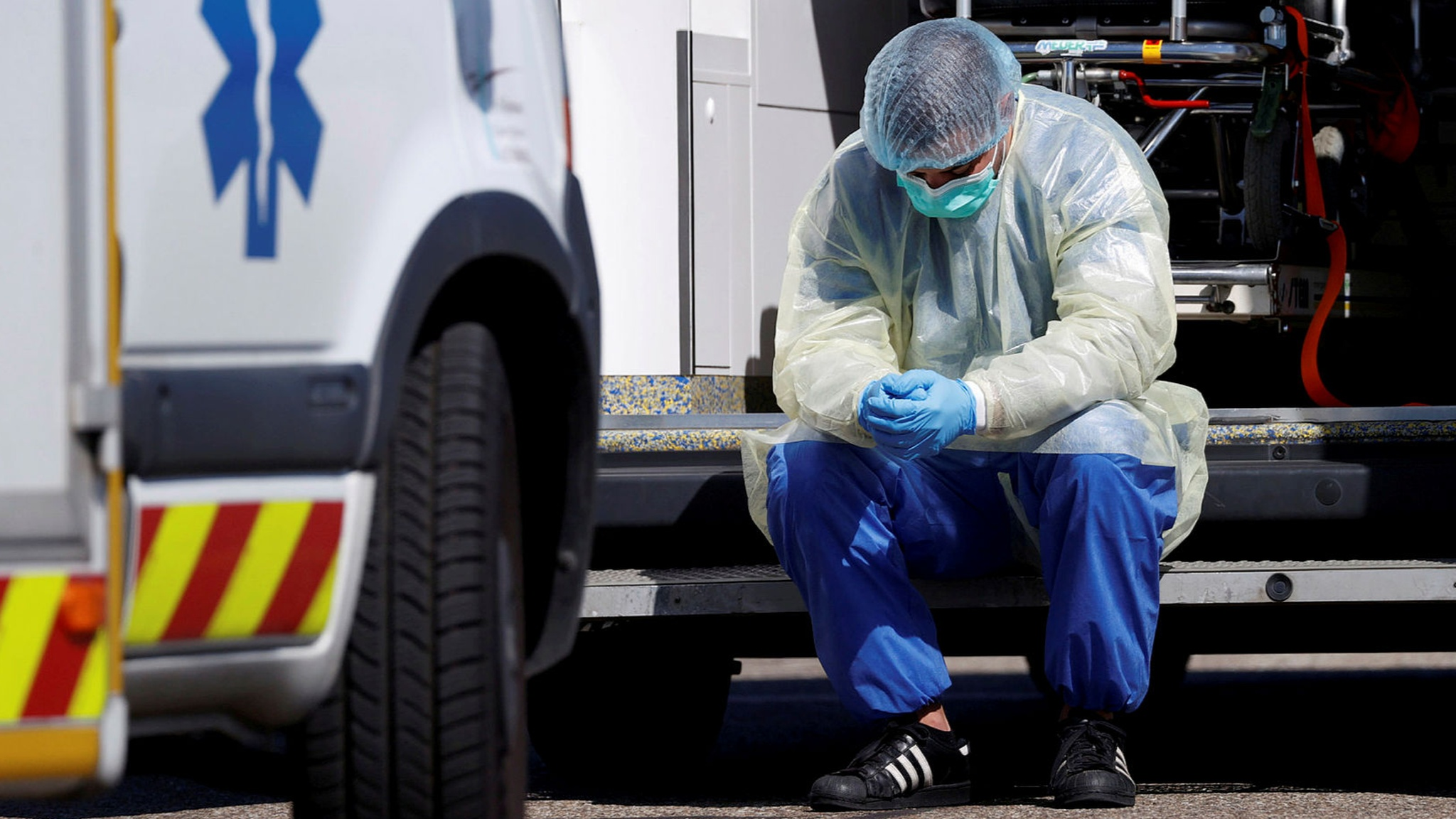 Coronavirus: France reports its highest single-day death toll — as it  happened | Financial Times
